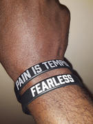 Elite Athletic Gear PAIN IS TEMPORARY Wristband Review