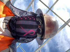 Elite Athletic Gear Shadow USA Flag - Breast Cancer Awareness Multi-Use Face Bandana Review