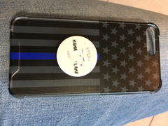 Elite Athletic Gear Thin Blue Line Phone Case Review