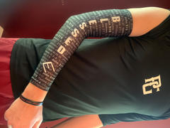 Elite Athletic Gear Black BLESSED Arm Sleeve Review