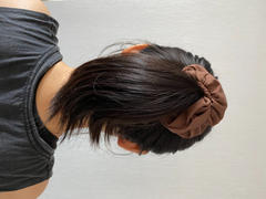 ANNIBODY Shiny Hair Scrunchies - Mocha Review