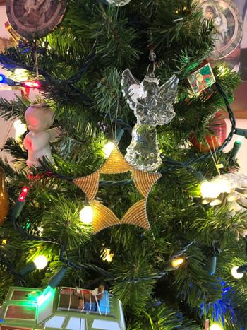 KAZI Gold Beaded Star Ornament Review