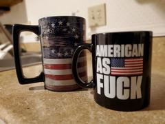American AF - AAF Nation American as F - Black - Coffee Mug Review