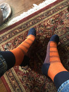 ArchTek Navy/Orange 2-tone Dress Sock Review