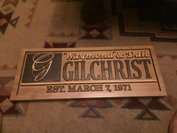 3D Woodworker Custom Last Name Sign Review