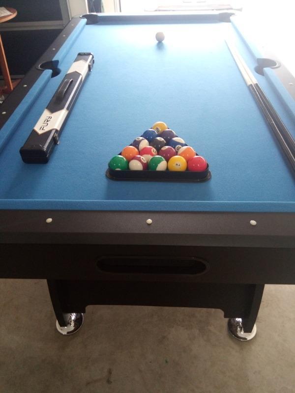 Shark 7ft Pool Table (Blue Felt) | Deal Mart