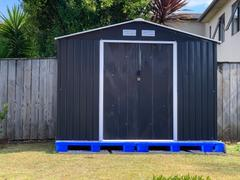 Deal Mart Garden Shed 9 x 6ft Cold Grey Review