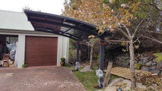 Deal Mart Cantilever Carport 5.5m x 3m Review