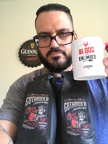 GothRider® Canada Gasoline Coffee Blood Of My Enemies Kit Review