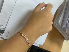 By Invite Only Jewellery Rose Gold Aria Cubic Bracelet Review