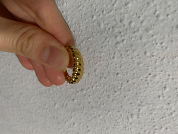 By Invite Only Jewellery Gold Twisted Rope Ring Review