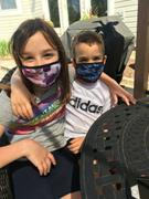 MASQD Blue Camo Face Mask - Kids Review