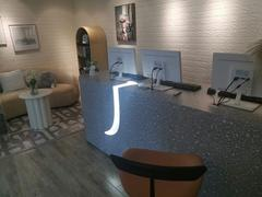 m2display Office reception desk Review