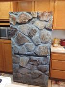 Best Appliance Skins Stone Wall<br/>Refrigerator Magnet Skin Review