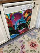 Best Appliance Skins Colorful Plates<br/>Dishwasher Magnet Skin Review