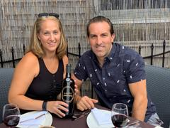 Mano's Wine Happy Anniversary Etched Wine Bottle Review