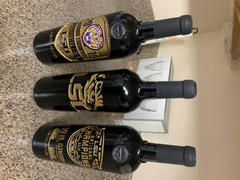 Mano's Wine LSU Logo Etched Wine Review