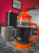 BUNAMARKET BIALETTI COFFEE PRESS 1L ORANGE Review