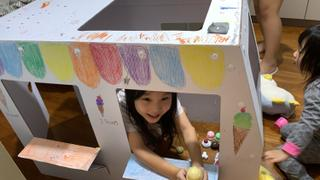 K therapy [SIGN UP] AERIN CARTON PLAY HOUSE & BUS Review
