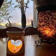The Little Luxuries Company Lustre Heart Wax Burner Review