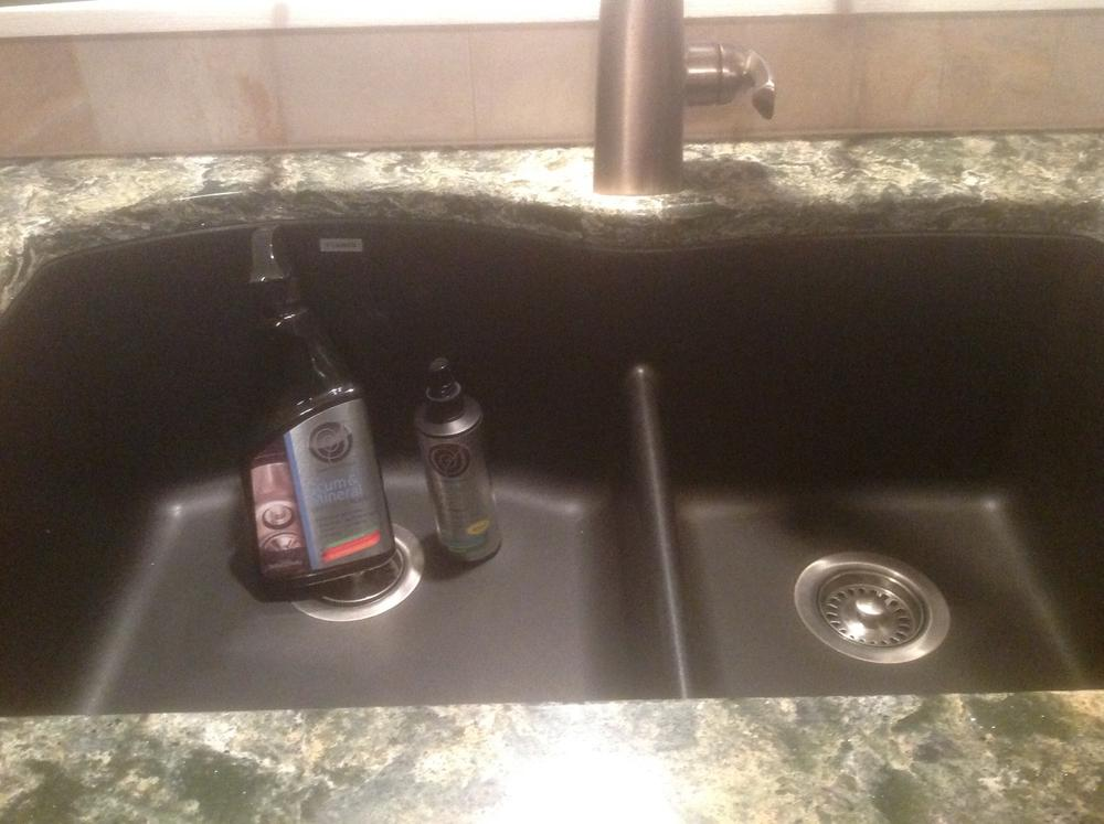 Composite Granite Sink Cleaners Care Maintenance Kit