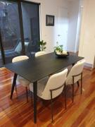 Nordik Living Glasgow Dining Table 1.5m - Black Review
