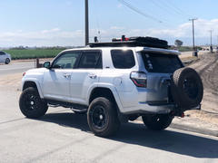 RIGd Supply RIGd UltraSwing™ Hitch Carrier 4th/5th Gen 4Runner Review