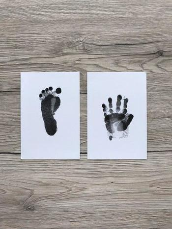 SNAPPYFINDS - Cuteness - Baby Hand & Footprint Inkless Ink Pad Review