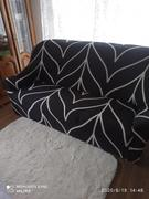 SNAPPYFINDS - Elastic universal sofa cover Review