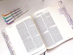 Bibles and Coffee Marble Bible Tabs Review