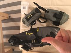 CampfireCycling.com Apidura Saddle Pack Dry Review