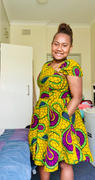 XZENDA RONKE AFRICAN PRINT DRESS Review