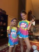 sunshinesisters Be Kind Tie Dye Face Covers {Adult & Youth Sizes} Review