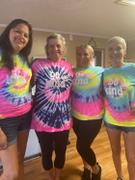 sunshinesisters Be Kind Tie Dye Tee - Orange Crush Review