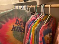 sunshinesisters Be Kind Tie Dye Face Covers - Blue Border {Adult & Youth Sizes} Review