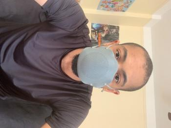 STS Official BREETHY Silicone Mask Grey With 10 KN95 Filters Review