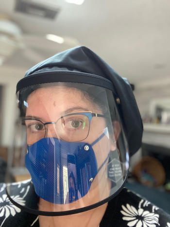 STS Official BREETHY Silicone Mask Blue With 10 KN95 Filters Review