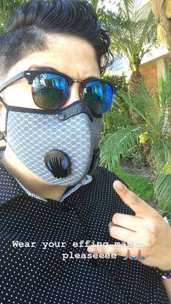 STS Official Grey Mesh Mask Review