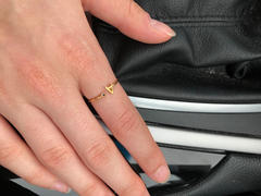 Katie Dean Jewelry Initial Ring Review