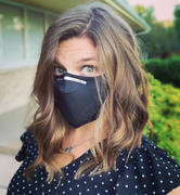 Electric Styles BLACK OUT -  MASK WITH (4) PM 2.5 CARBON FILTERS Review