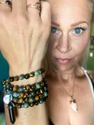 Lily Rose Jewelry Co Tigers Eye & African Turquoise Duo Powerhouse Endless Possibilities 108 Mala Necklace Bracelet Review