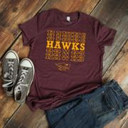 One Crazy Mama Hawks Hawks Hawks... - Unisex Triblend Tee ADULT & YOUTH Review