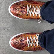 TAFT The Sneaker in Red Paisley Review