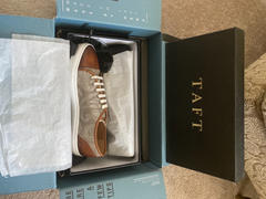 TAFT The Jack Sneaker in Taupe Paisley Review