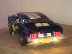 Myhobbies LEGO Ford Mustang GT 10265 Light Kit (LEGO Set Are Not Included ) Review