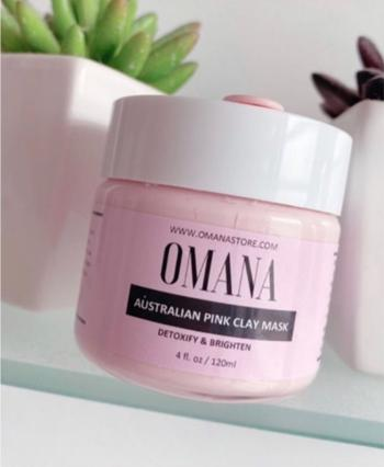 Omana Store Australian Pink Clay Mask - 120ml Review