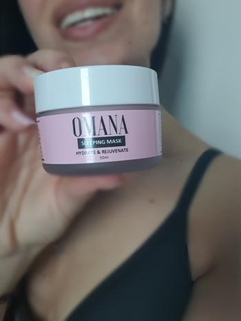 Omana Store Sleeping Mask - 50ml Review
