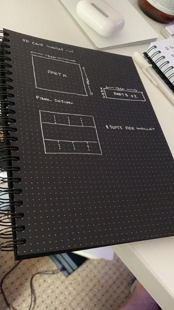 Dotgrid A5 Dot Grid Notebook - Black Pages Review