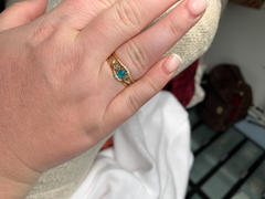local eclectic Ombre Birthstone Stacking Ring Set Review