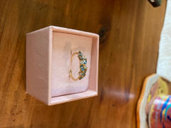 local eclectic London Blue Topaz and Diamond Orchard Ring Review